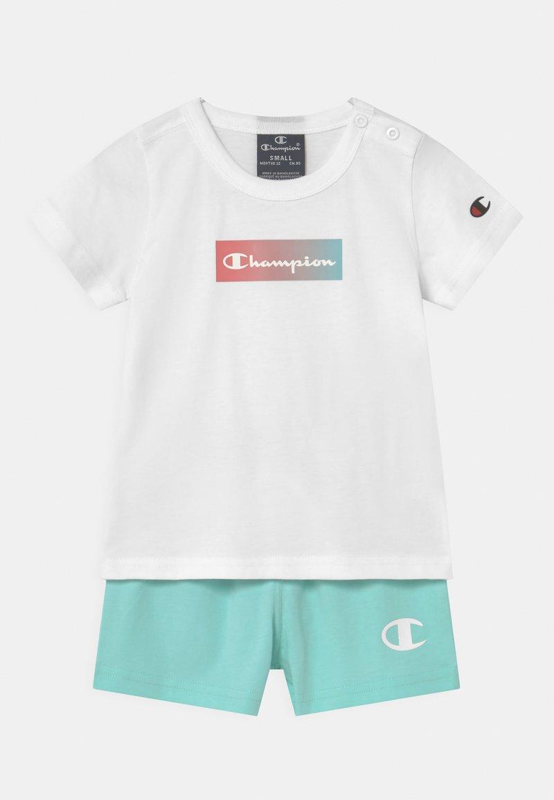 Champion - SET UNISEX - Print T-shirt - white