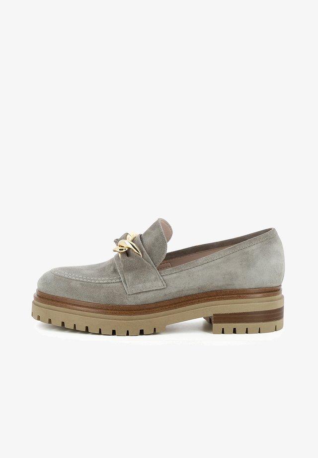 Scarpe senza lacci - inox