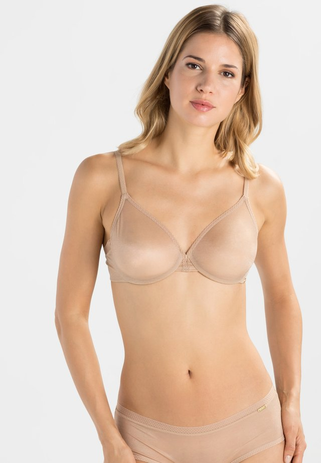 GLOSSIES BRA - Underwired bra - nude