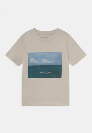 T-shirt print - chalk