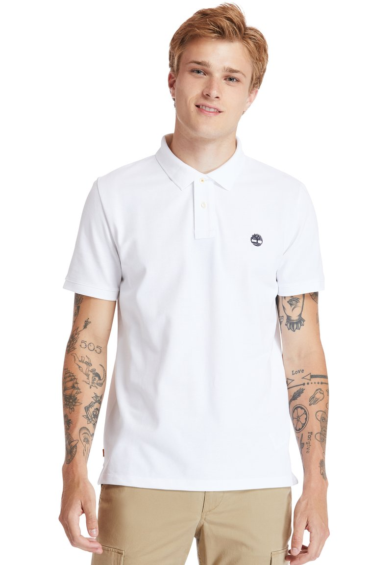 Timberland - MILLERS RIVER - Polo shirt - white