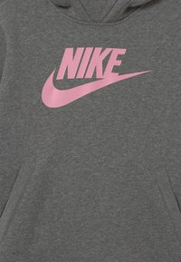 Nike Sportswear - Hoodie - carbon heather/pink - 2