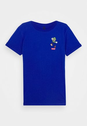 LUIGI MAMMA MIA TEE - T-shirt print - game royal