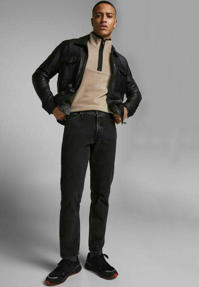 Jeans baggy - black denim