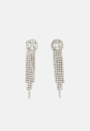 PCLAGGY EARRINGS - Kolczyki - silver-coloured