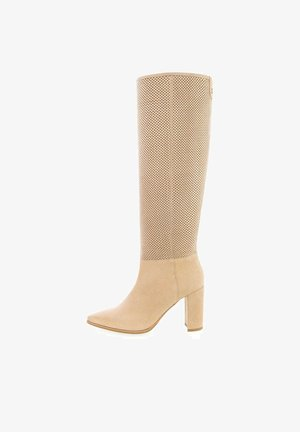 SORRENTO - High heeled boots - beige