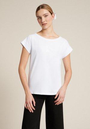 BELICE - Camiseta estampada - bianco