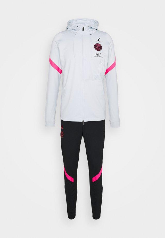 PARIS ST GERMAIN DRY TRACKSUIT - Squadra - pure platinum/black/hyper pink