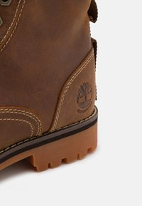 Timberland - RUGGED 6 IN PLAIN TOE WP - Lace-up ankle boots - rust - 5