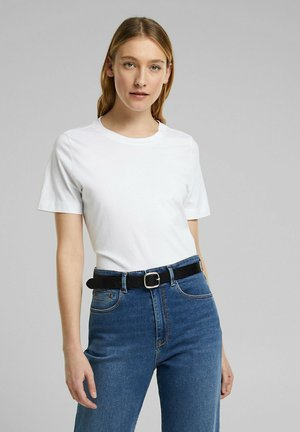 BASIC TEE - Basic T-shirt - white