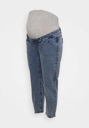MLTOWN CROPPED REGULAR - Jeans Tapered Fit - dark blue denim
