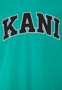 Karl Kani - UNISEX SERIF CREW - Sweatshirt - turquoise - 2