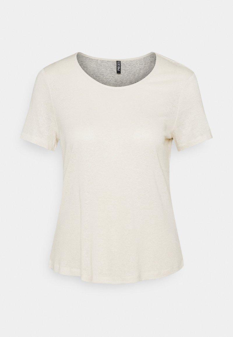 Pieces - PCPHOEBE TEE - Basic T-shirt - birch