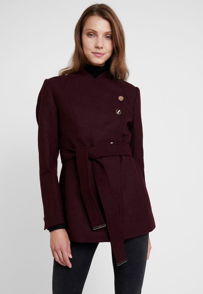 mint&berry - Short coat - bordeaux