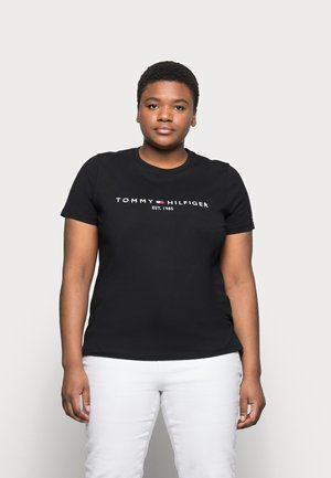 REGULAR TEE - T-shirt con stampa - black