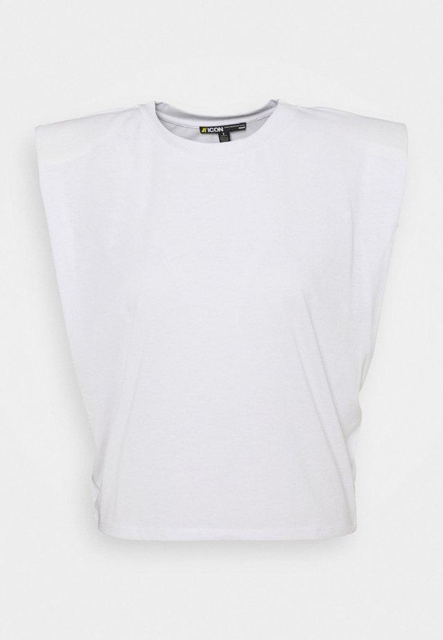SLEEVELESS - T-shirt basique - white