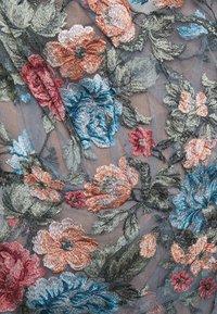 Marchesa - OFF THE SHOULDER GOWN - Společenské šaty - smokey blue - 9