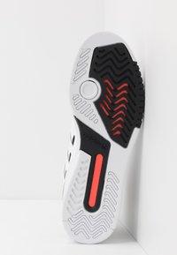 adidas Originals - DROP STEP - Sneakersy wysokie - footwear white/granit/solar red - 4