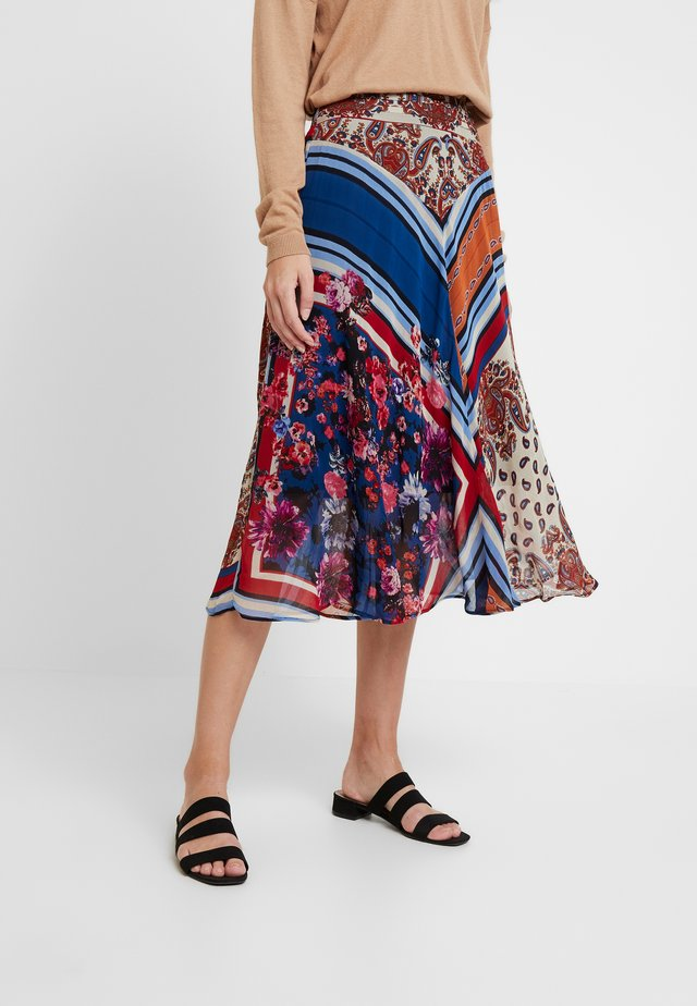 OEUVRE - A-line skirt - navy