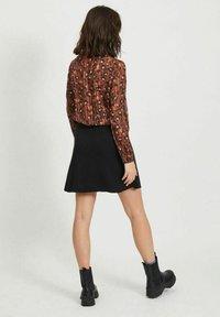 Vila - Button-down blouse - tobacco brown - 2