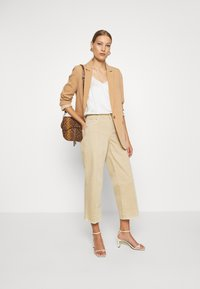 Mos Mosh - CORA - Relaxed fit jeans - safari - 1
