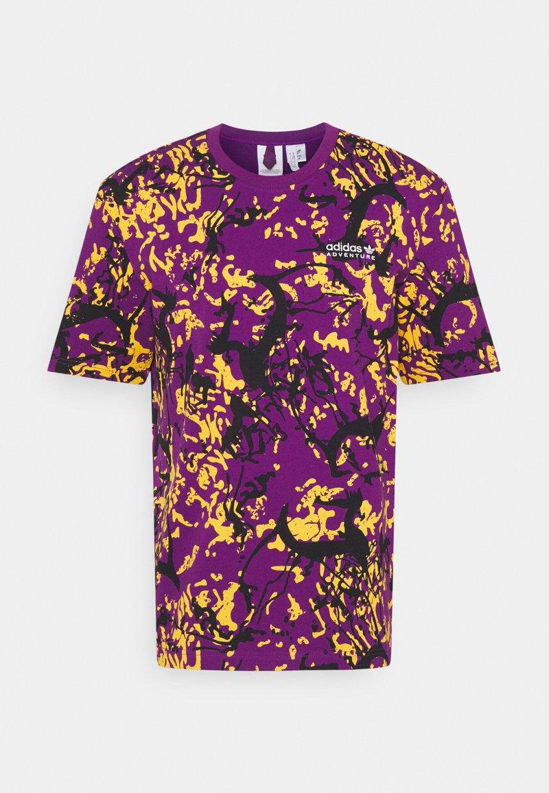 adidas Originals - Print T-shirt - glory purple