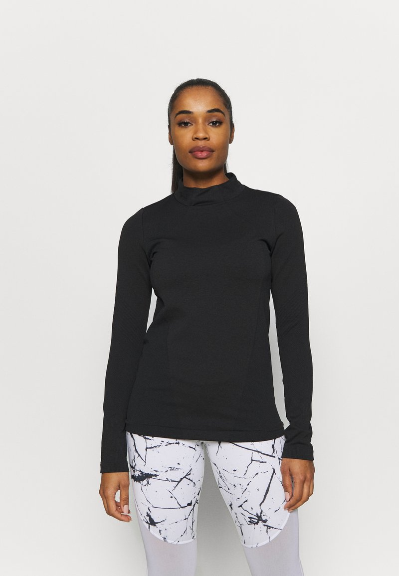Under Armour - RUSH SEAMLESS - Long sleeved top - black
