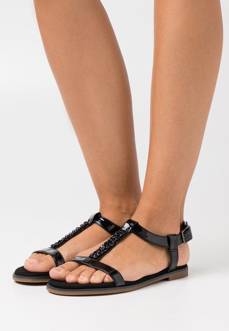 Clarks - BAY ROSA - Sandals - black