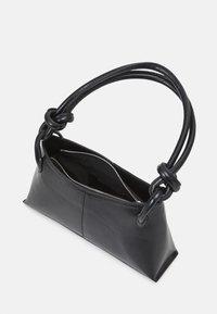 Topshop - 90S  KNOT SHOULDER - Handbag - black - 2
