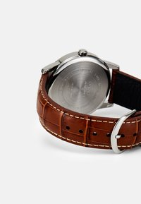 Casio - Watch - brown/silver-coloured - 1
