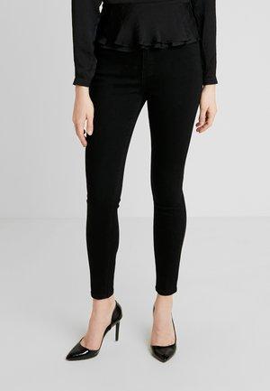 SUPER HIGH WAIST - Jeans Skinny Fit - black