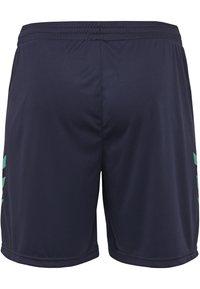 Hummel - DUO SET - Sports shorts - atlantis/marine - 4