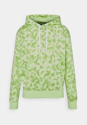 CLUB HOODIE CAMO - Sweatshirts - liquid lime/white