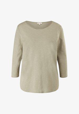 LOCKERES 3/4-ARM - Long sleeved top - khaki