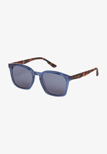 Sunglasses - blue / brown havanna