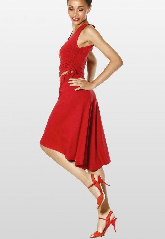 A-line skirt - sienarot