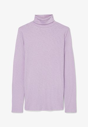 LONG SLEEVE TURTLE NECK - Long sleeved top - peached purple