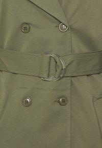 Missguided - LONG LINE D RING BELT - Trenchcoat - khaki - 2