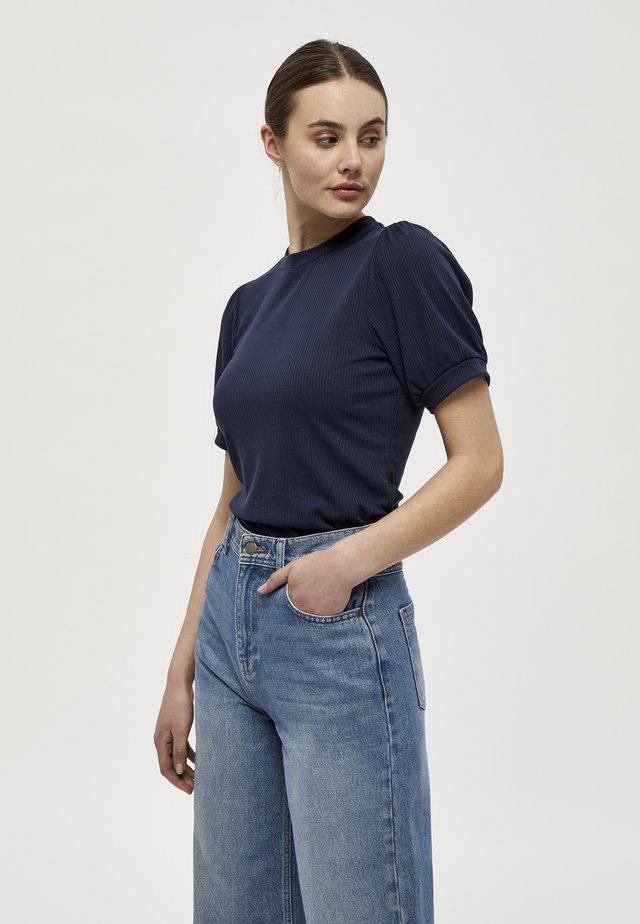 JOHANNA  - T-shirt basic - dark blue