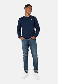 le coq sportif - ESS CREW N2 - Sweater - blue - 1