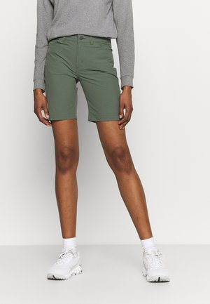 SKYLINE TRAVELER  - Outdoor shorts - kale green