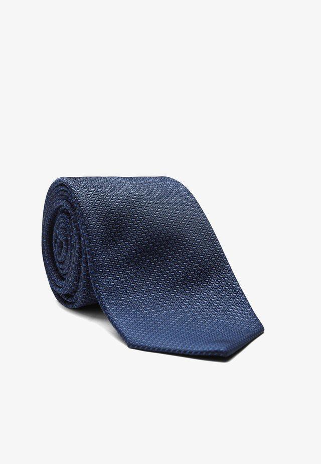 LEROY - Krawatte - mittelblau