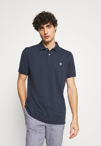SHORT SLEEVE BUTTON PLACKET - Polo - total eclipse