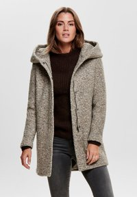 ONLY - ONLSEDONA COAT - Cappotto corto - taupe grey - 0