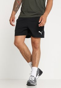 Puma - ACTIVE SHORT - Sports shorts - black - 0
