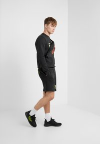 EA7 Emporio Armani - Sweatshirt - black / neon / yellow - 1