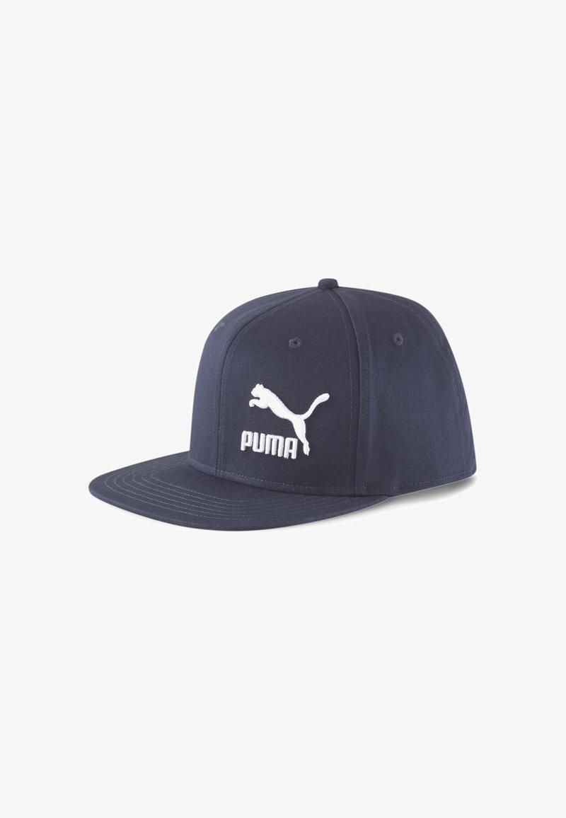 Puma - Hat - peacoat-puma white