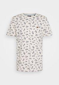 Jack & Jones PREMIUM - JPRBLUTOM TEE CREW NECK - T-shirt med print - rainy day - 4