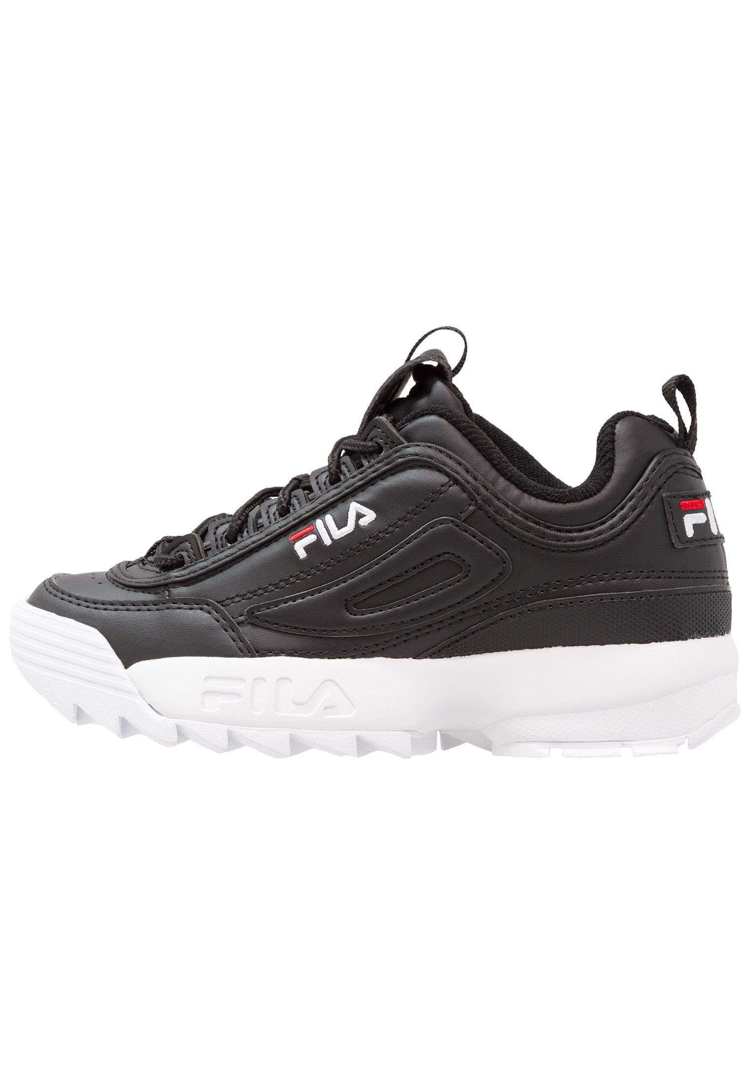 Fila DISRUPTOR Joggesko blacksvart Zalando.no