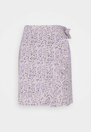 VILOVIE - Wrap skirt - lavender
